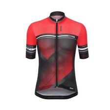 Maillots de ciclismo rojos talla S, para hombre