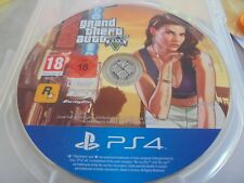 GAME PS4 PLAYSTATION 4 GTA 5 GRAND THEFT CAR FIVE ONLY DISK