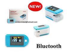 Color Bluetooth fingertip pulse oximeter,SpO2,PR,step pedometer,calorie monitor