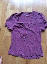 Linea, medium, purple short Sleeved top
