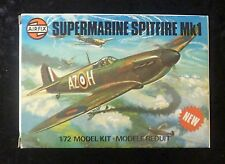 Airfix Supermarine Spitfire Mk1 1/72 Scale Aircraft Model Kit Series 1