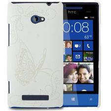 Housse rigide BUTTERFLY pattern pour HTC windows phone 8x/c620e en Blanc Housse Cover