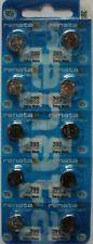 20 x Batterien Renata 395 V395 SR927SW   1,55V Knopfzellen