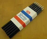 Lot 12 Vintage Venus Water Coloring 202 Blue Color Colored Pencils USA in Sleeve
