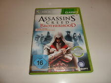 XBOX 360 ASSASSIN 'S CREED-Brotherhood