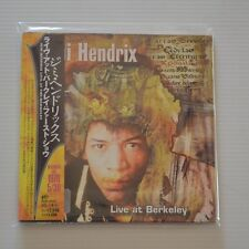JIMI HENDRIX - LIVE AT BERKELEY - 2008 LTD. EDITION JAPAN CD MINI LP