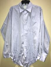 Brooks Brothers Mens Makers Long Sleeve Dress Shirt 17-5 Light Blue Color