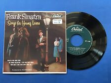 Frank Sinatra - Songs for Young Lovers - EP Capitol Records  EAP I-488 - part I
