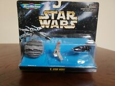 Star Wars MIB micro machine X Death Star II / Sky Hopper / land speeder Galoob