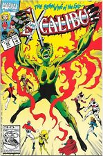 April 1992 Marvel Comic The Beginning of the End Excalibur # 49.