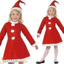 Disfraces de niña de color principal rojo, Navidad