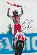 Kevin CAL Firmato a Mano 12x8 foto-MotoGP AUTOGRAFO 6.