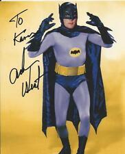Adam West - Batman signed photo