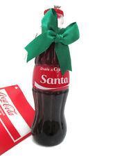 Coca-Cola Kurt Adler Christmas Ornament 2017 Share a Coke With Santa - BRAND NEW