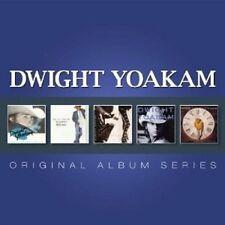 """DWIGHT YOAKAM """"ORIGINAL ALBUM SERIES"""" 5 CD NEUF"""