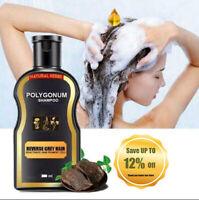 200ml Reverse Grey Hair Darkening Natural Polygonum Women Men Shampoo Unisex