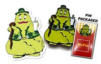 Uncle O'Grimacey Pin & Sticker Shamrock Shake McDonalds Grimace St Patricks Day