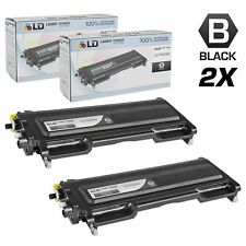 LD © for Brother 2pk TN350 Black DCP 7020 HL 2030 HL 2040 HL 2070N