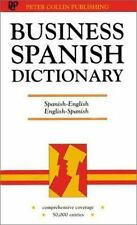 Business Spanish Dictionary-ExLibrary