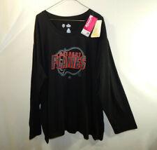 NWT Calgary Flames NHL Hockey Long Sleeve Shirt Majestic Womens Plus Size 4X 4XL