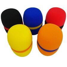 New Five colour Wired/Wireless Handheld Microphone Foam windproof socks 5pcs
