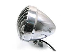"""6 1/2"""" Faros de prisión Pulido Aluminio Para Harley Chopper Hog Proyecto Personalizado"""