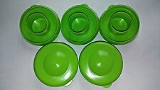 Water Bottle Lime Green Dew Cap Snap On 55mm Drinking Jug Tops Bag of 5