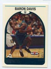 1999-00 Hoops BARON DAVIS Rookie Card RC FOIL HOOPLA PARALLEL #31 Hornets UCLA