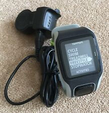 TomTom MULTI SPORT Runner Cycle Swim GPS Watch, Large Strap TESTED Ref:65