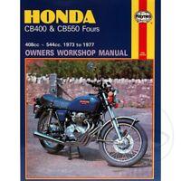Honda CB 400 F Four 1977 Haynes Service Repair Manual 0262