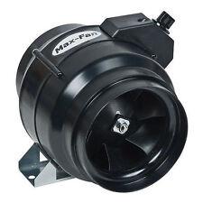 """Can Fan Max Fan 6"""" 334 CFM w/ Speed Controller - inline exhaust blower hydro"""