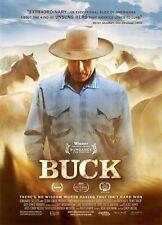 Buck - Documentary by Buck Brannaman - Brand New & Sealed DVD
