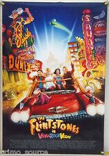 THE FLINTSTONES IN VIVA ROCK VEGAS DS ROLLED ORIG 1SH MOVIE POSTER STRUZAN(2000)