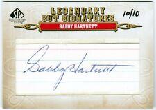"Charles Leo ""Gabby"" Hartnett 2011 UD SP Legendary Cuts Auto 10/10 Signed Chicago"