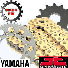 Yamaha YZ125 E,F 78-79 GOLD Chain and Sprocket Set HDR Race Series
