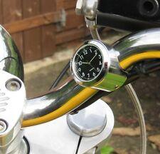 New Freeway XS Bar Clock, Harley, Bike, Motorcycle - When Size Really Matters!