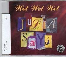 (BW100) Wet Wet Wet, Julia Says - 1995 DJ CD