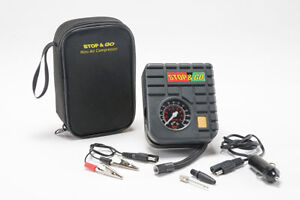 Stop&Go Mini Air Compressor for Motorbikes, Scooters, ATV's & Sports Equipment