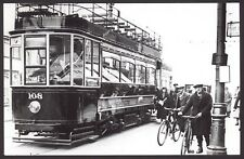Bournemouth Corporation Tramcar No.108 Bournemouth Art Gallery & Museum Postcard