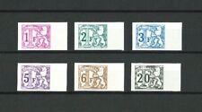 TX66/72 Ong/ND (6 valeurs) - COB 77 € !