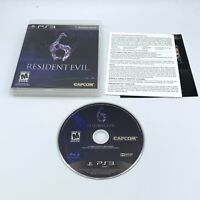 Resident Evil 6 (Sony PlayStation 3, 2012) PS3 RE6