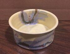 "Yellow Ceramic Decorative Bowl Nc 5.5"" Round X 2.5"" T"