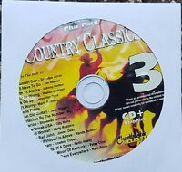 COUNTRY CLASSICS 3 KARAOKE CDG CHARTBUSTER ESSENTIALS ESP451-3 CD+G MUSIC