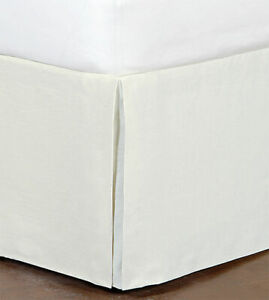 Eastern Accents Barclay Butera BREEZE LINEN BED SKIRT SHELL California King NEW