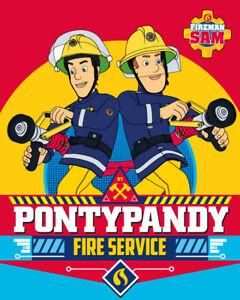 Fireman Sam Feuerwehrmann Sam Coral Fleece Decke Kinderdecke 120 x 150 cm
