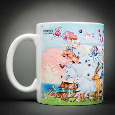 Studio Ghibli - Mug Tasse Cafe - 325 Ml - Mononoké Totoro Chihiro Porco Rosso...