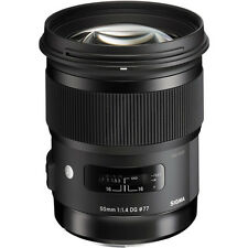 Sigma 50mm f/1.4 DG HSM Art Lens - Nikon Fit