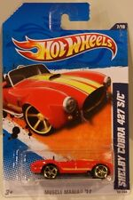 Hot Wheels 2011 Kmart Exclusive Muscle Mania '11 Shelby Cobra 427 S/C RED
