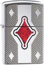 Zippo Choice Armor Geo Design WindProof Lighter High Polish Chrome 29516 New