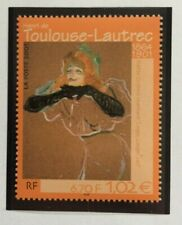 Timbre France 2001 Neuf** YT 3421. Toulouse-Lautrec
